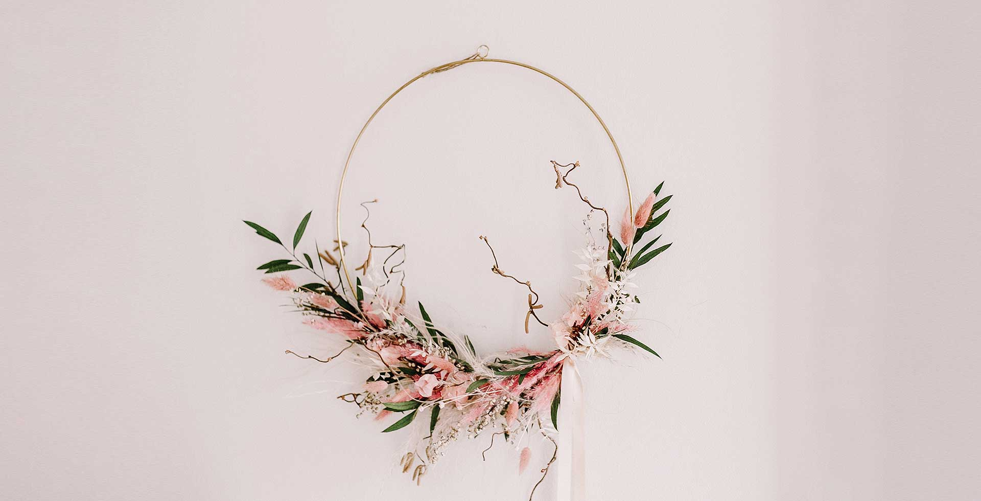 Türkranz Flower-Hoop / Workshop – Mein Laden